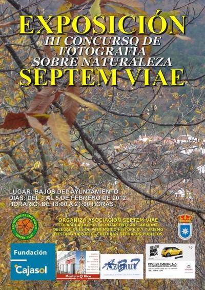 Cartel Concurso de Fotografía 2011
