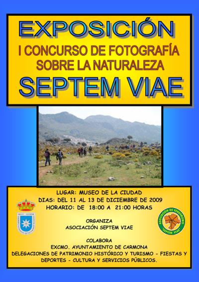 Cartel Concurso de Fotografía 2009