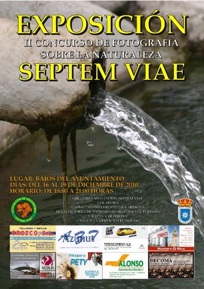 Cartel Exposición Concurso de Fotografía 2010