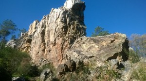Santa Ana - Riscos de Levante - Chorros de Jollarancos - Santa Ana
